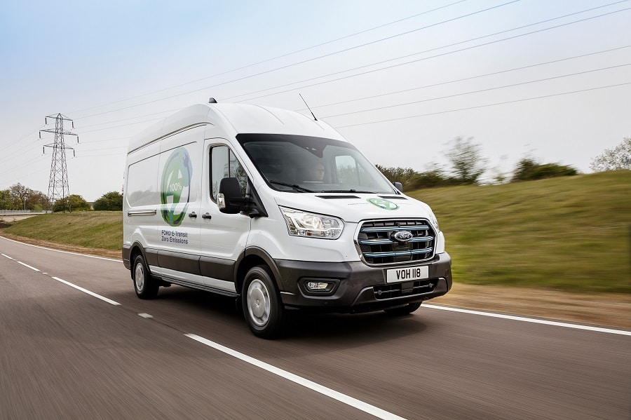 Ford E-Transit frontale