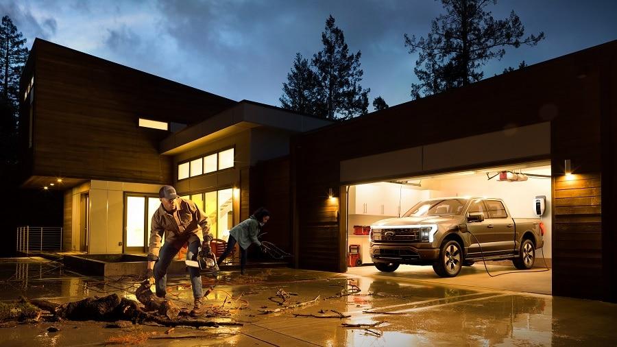 Ford F-150 Lightning alimenta casa