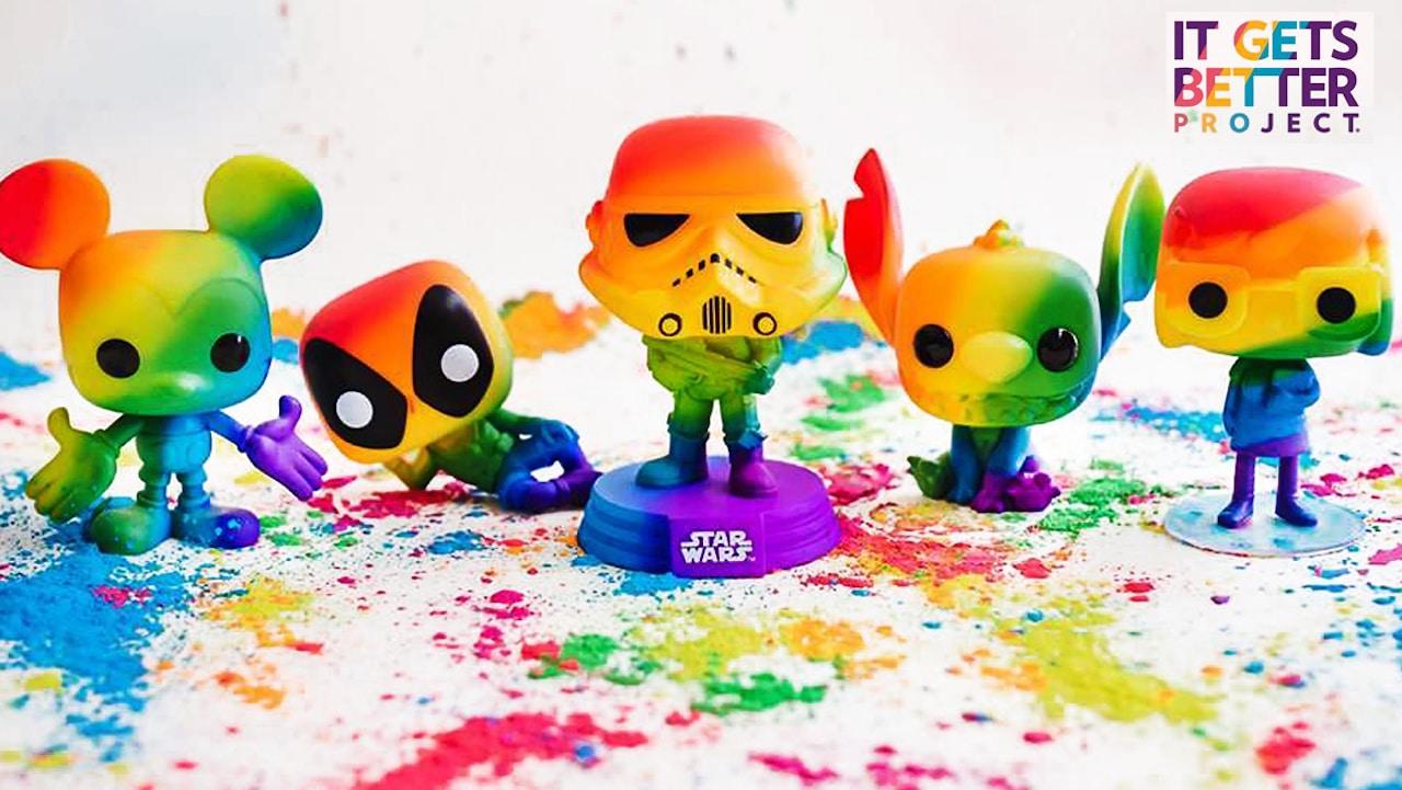 Funko celebra il Pride con una collezione arcobaleno thumbnail