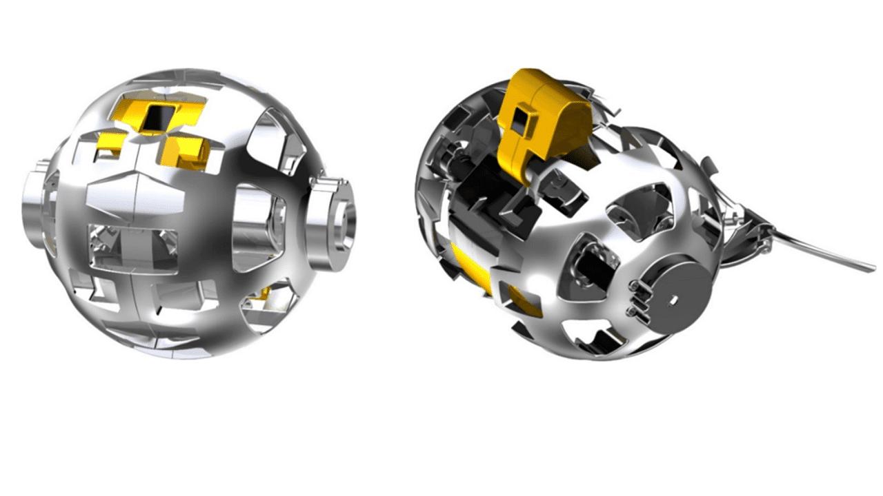 Il Giappone vuole inviare questa mini palla robotica mutevole sulla Luna thumbnail