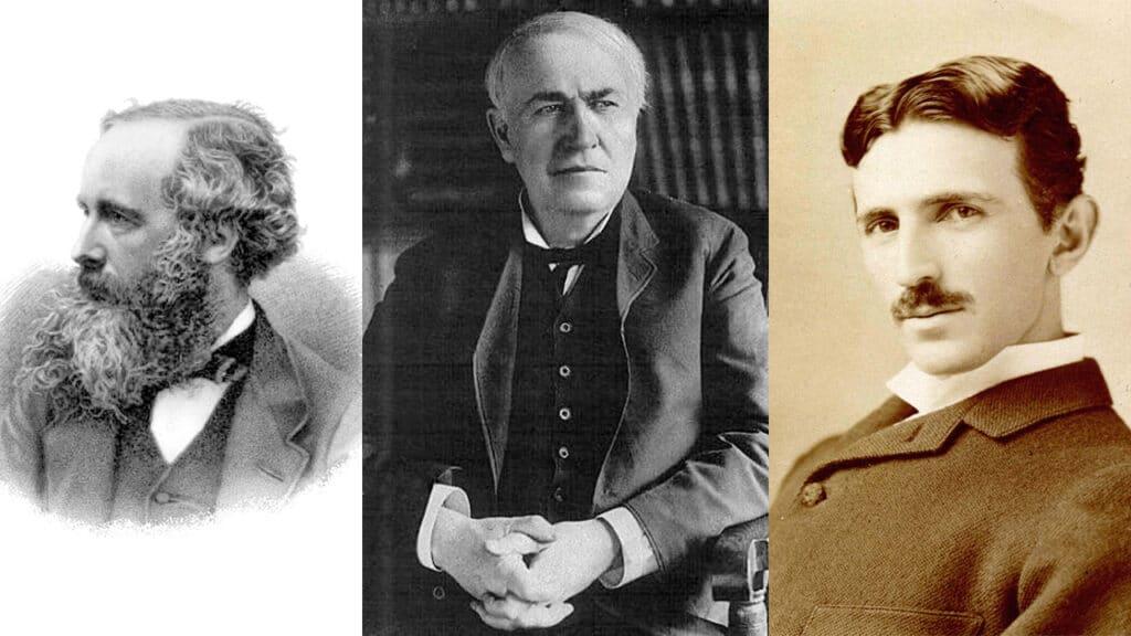 Giornata Internazionale della Luce - Maxwell, Edison e Tesla