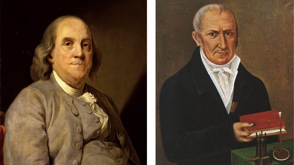 Giornata Internazionale della Luce - Volta e Franklin