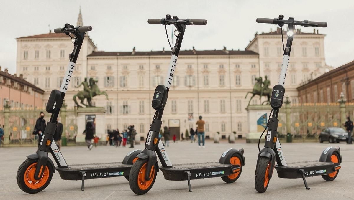 Helbiz: rinnovata per un altro anno la partnership con la città di Torino thumbnail