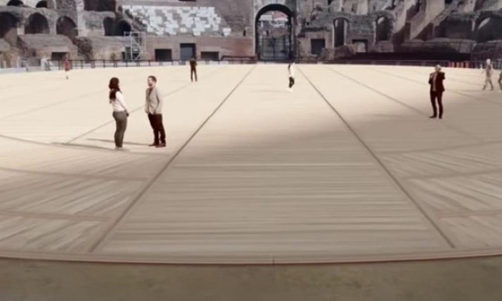 Pavimento high-tech Colosseo
