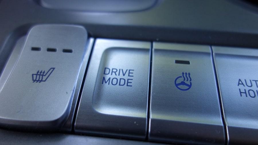 Hyundai Kona elettrica Drive Modes