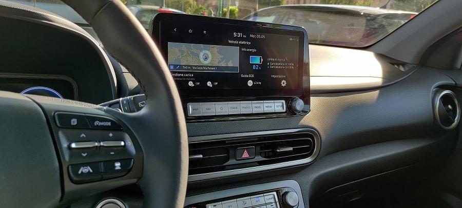 Hyundai Kona elettrica cruise control