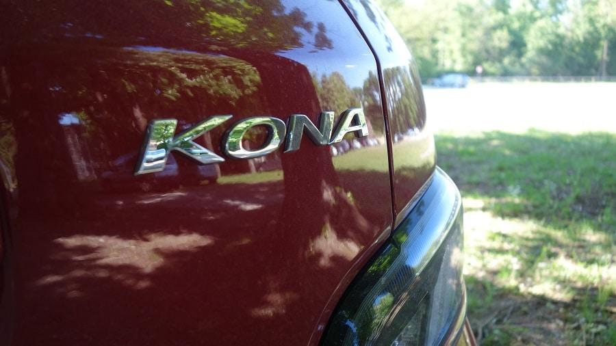 Hyundai Kona elettrica nome