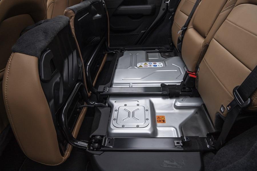 Jeep Wrangler 4xe batteria