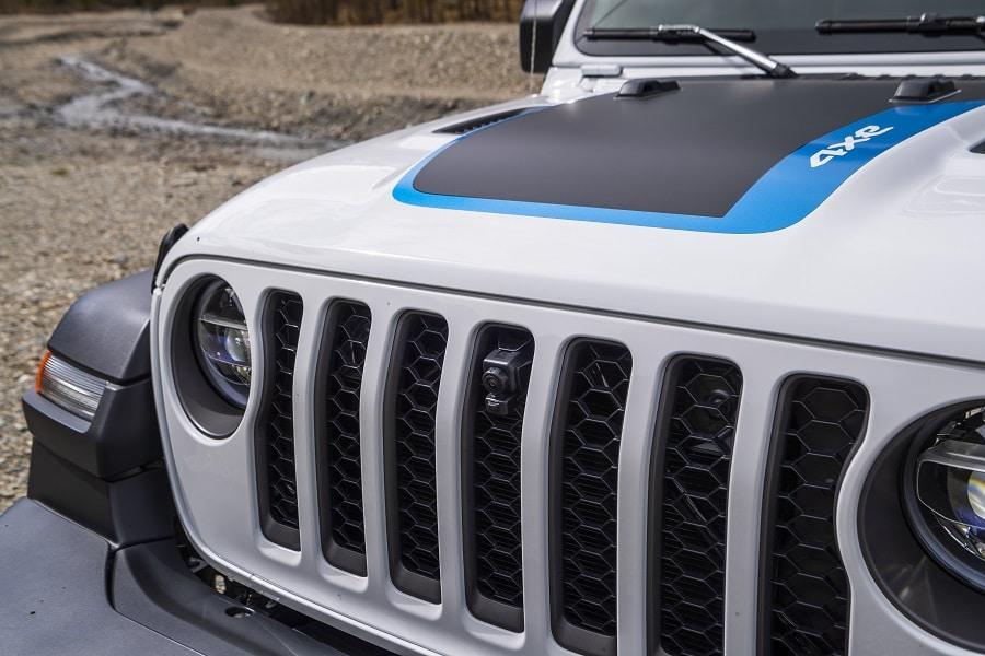 Jeep Wrangler 4xe frontale