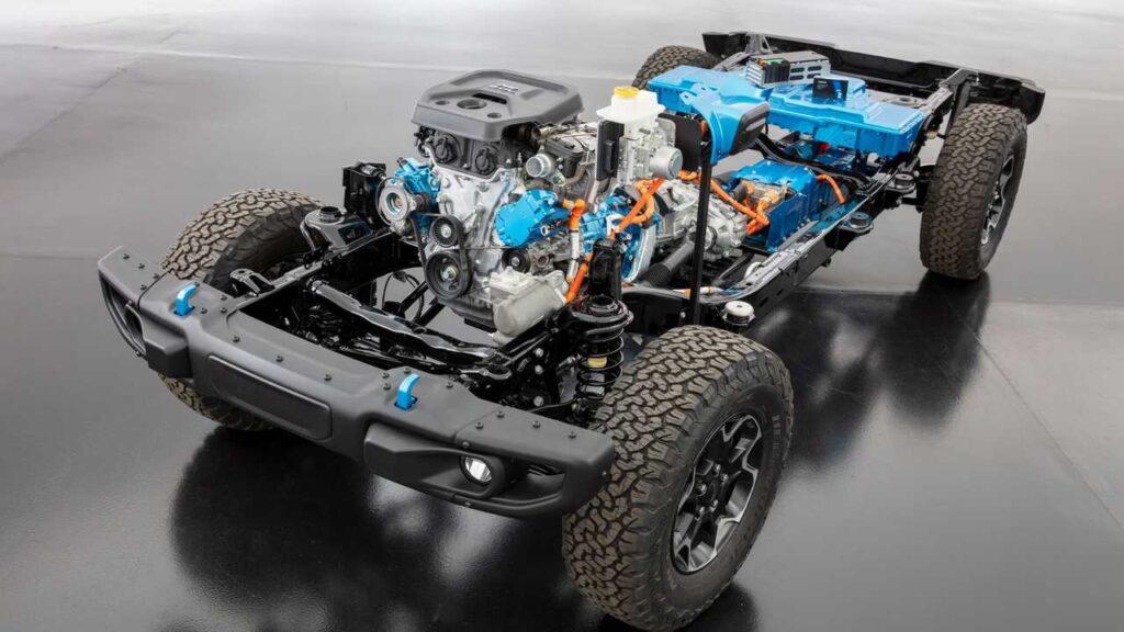 Jeep Wrangler 4xe meccanica