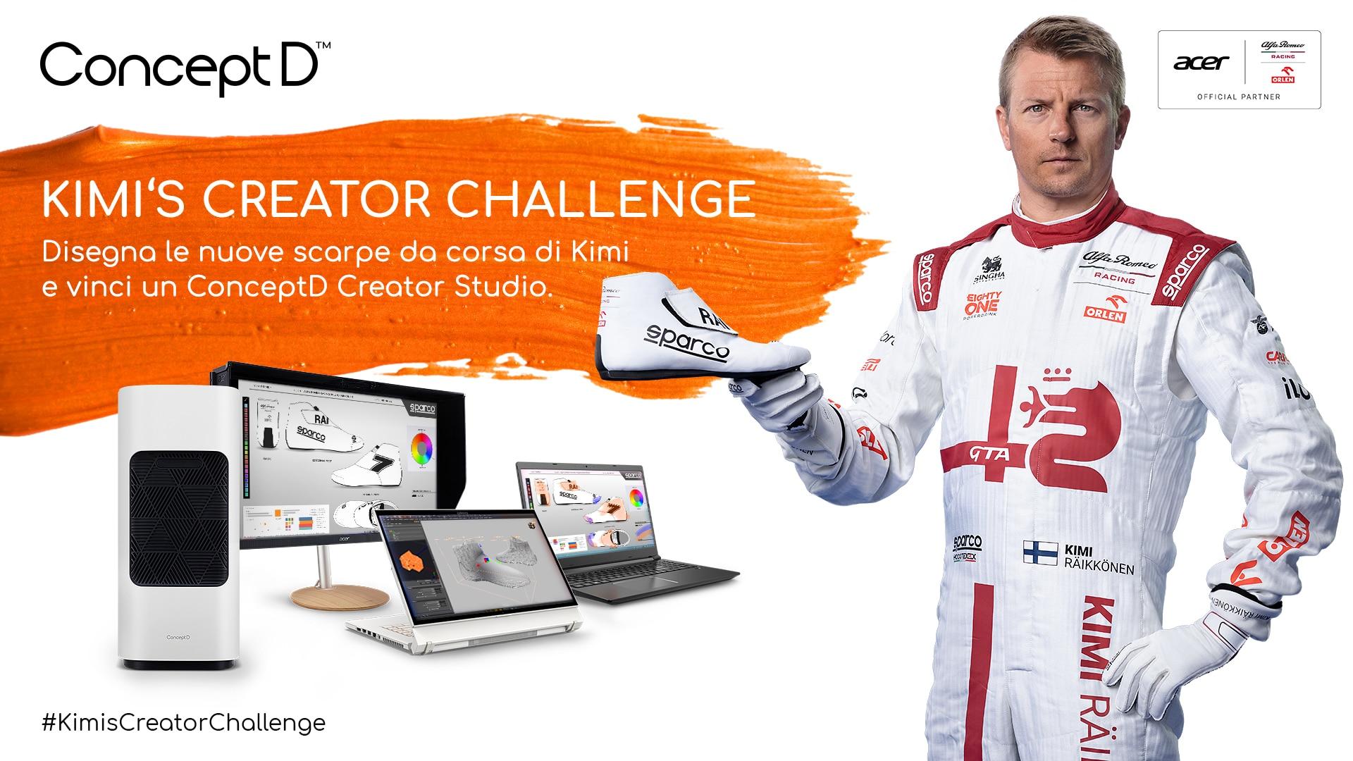"Acer annuncia la ""Kimi's CreatorChallenge"" assieme a ""Save The Children"" thumbnail"