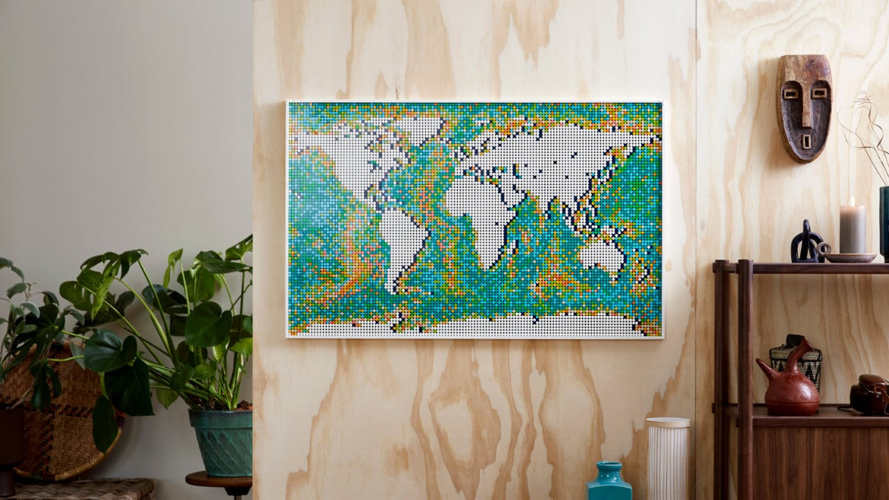 LEGO World Map, il set con più pezzi al mondo thumbnail