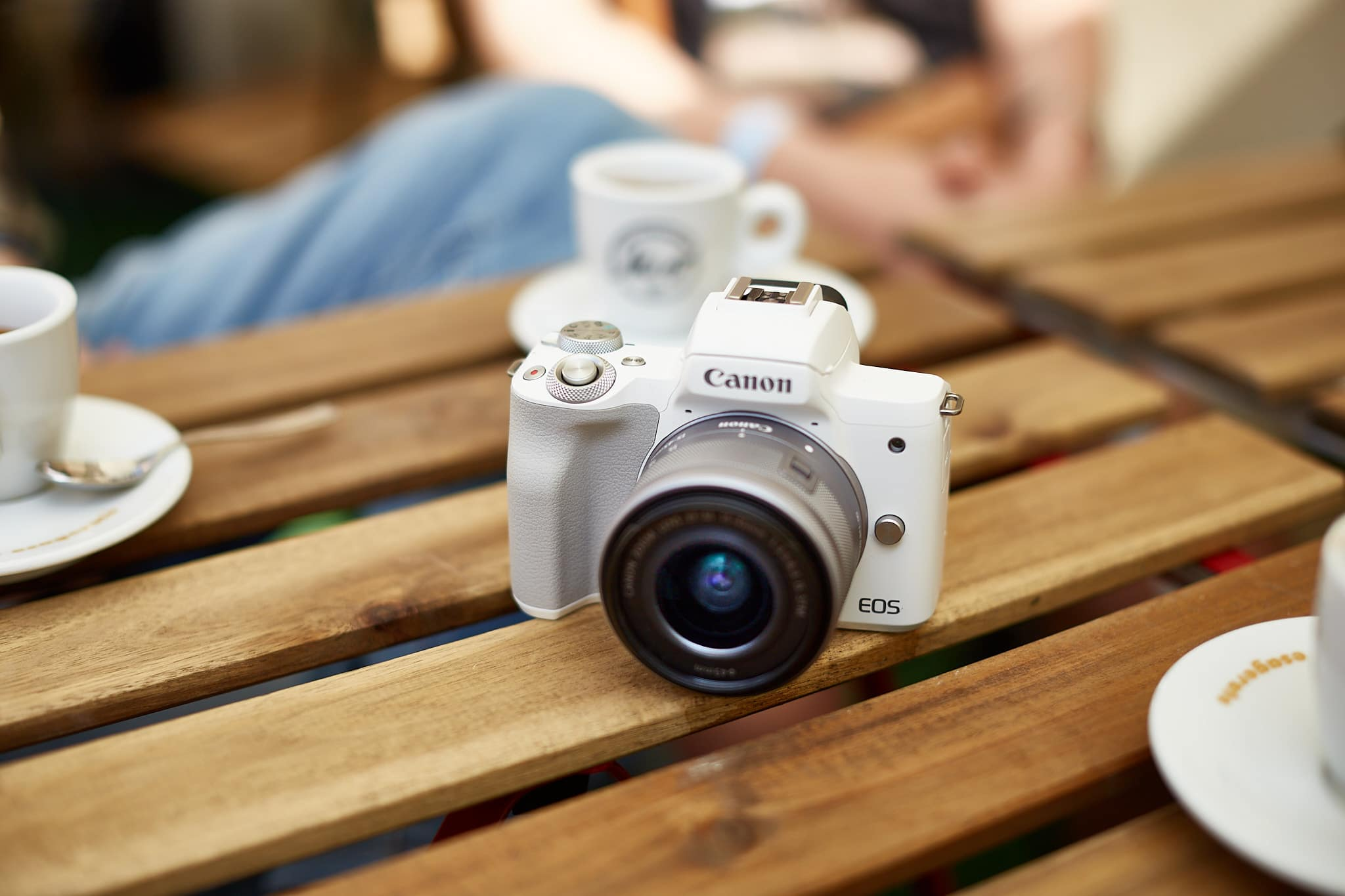EOS M50 Mark II: piccola, bella e bianca thumbnail