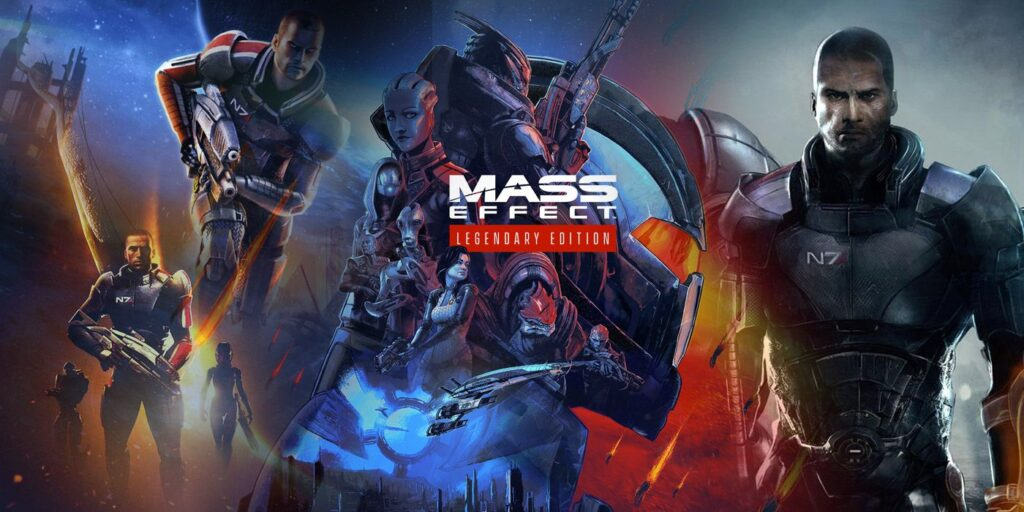Mass effect legendary edition storia