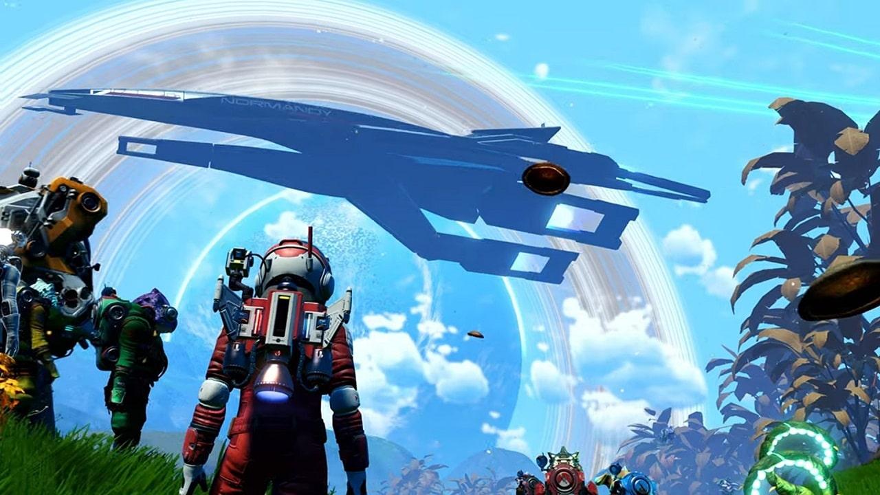 No Man's Sky celebra Mass Effect Legendary Edition con un'aggiunta speciale thumbnail
