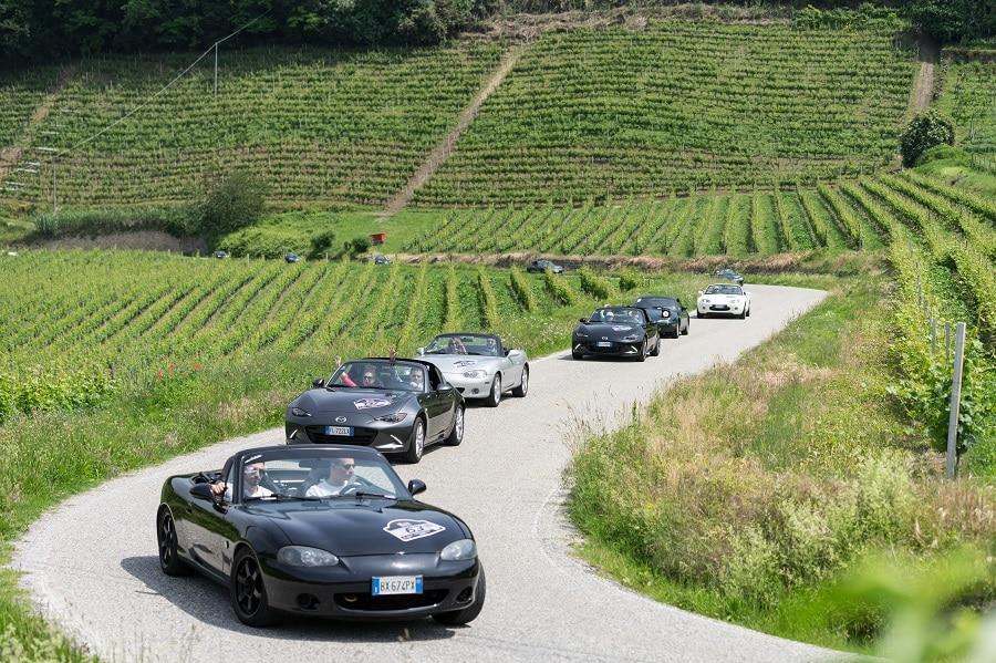Mazda MX-5 raduno langheù