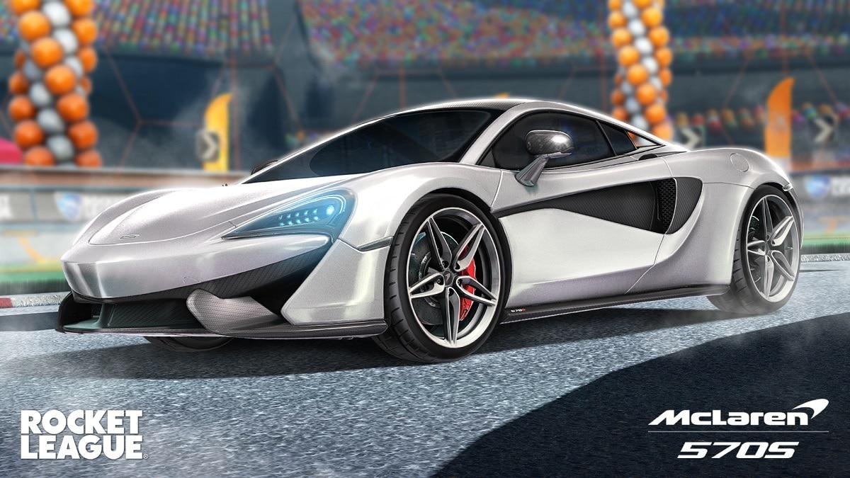La McLaren 570S torna in Rocket League thumbnail