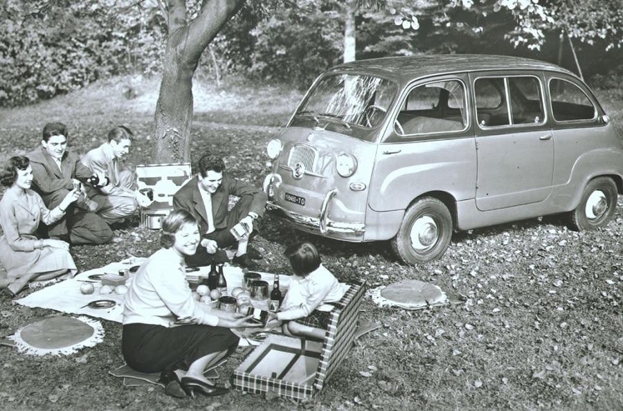 FIAT 600 Multipla scampagnata