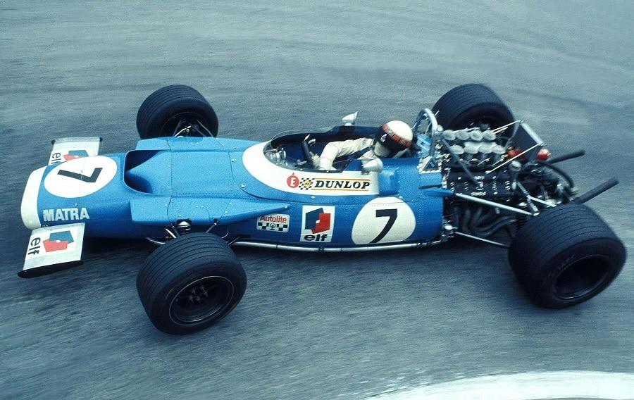 Matra F1 1969 Jackie Stewart