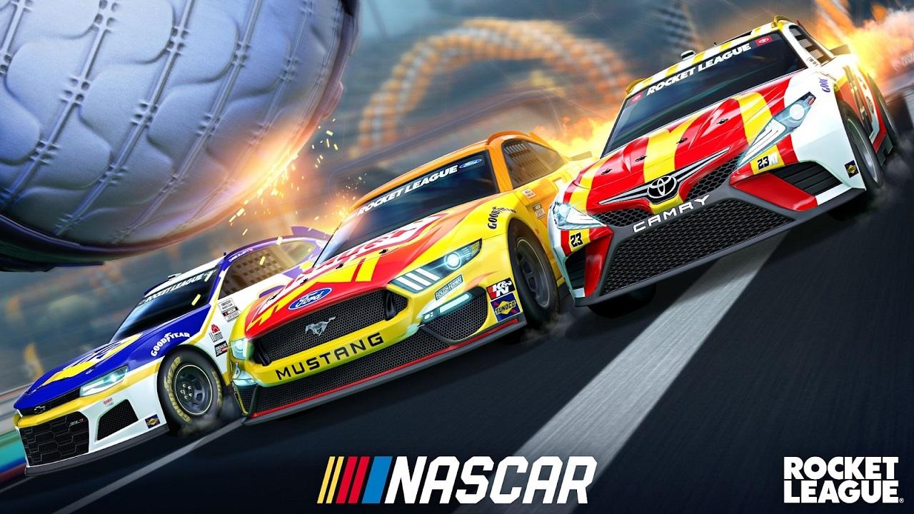 Su Rocket League arriva il NASCAR 2021 Fan Pack thumbnail