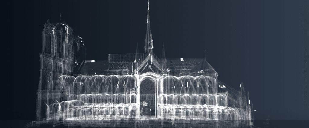 Notre-Dame ricostruzione digitale