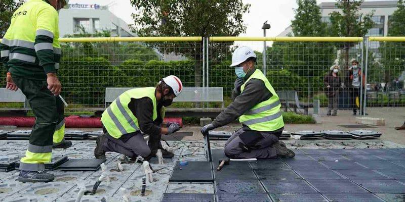 barcellona green pavimento fotovoltaico