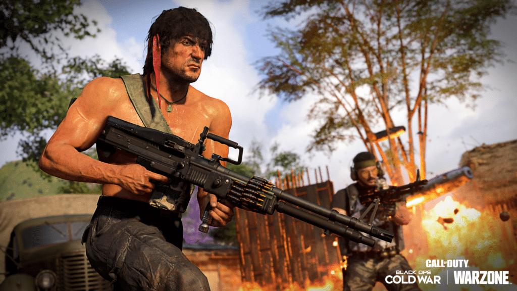 Call of Duty Rambo John McClane
