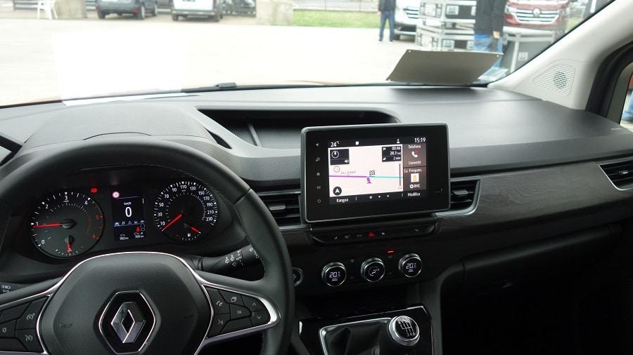 Renault Kangoo 2021 infotainment1