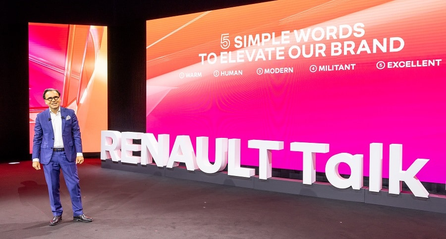 Marketing Renault Talk