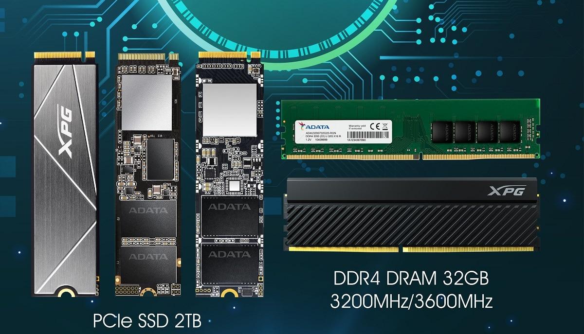 Gli SSD e i moduli DRAM di ADATA ideali per il mining di Chia thumbnail