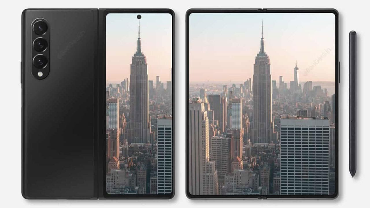 Sarà così il Samsung Galaxy Z Fold 3? thumbnail