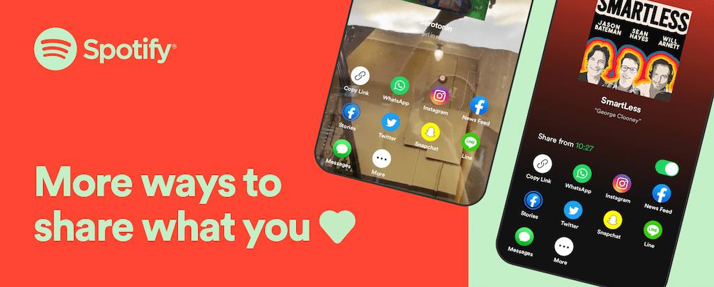Spotify App funzioni social