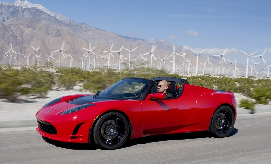 Tesla Roadster 2008 anteriore