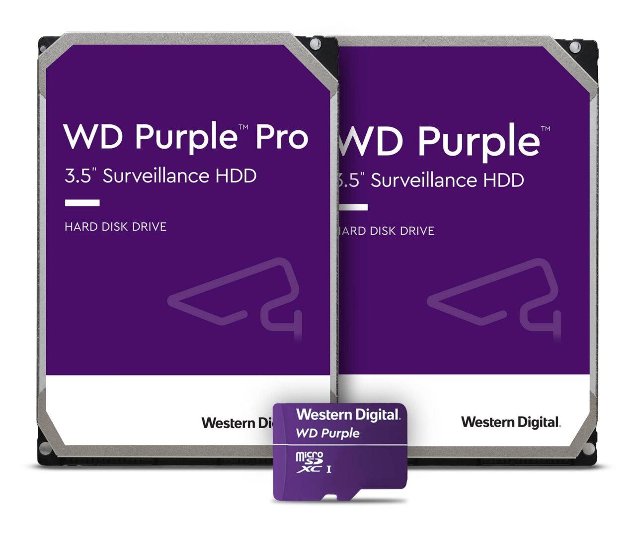 Western Digital Purple Pro, ecco i nuovi prodotti per la videosorveglianza thumbnail
