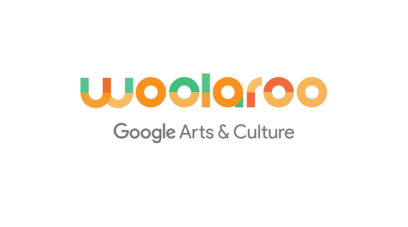 Woolaroo Google logo