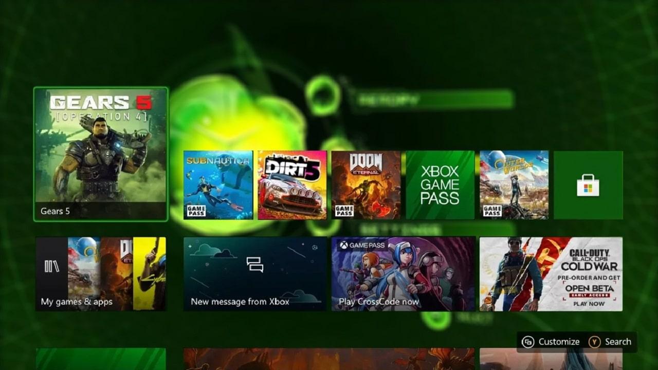 L'animazione originale della dashboard Xbox è disponibile su Xbox Series X|S thumbnail