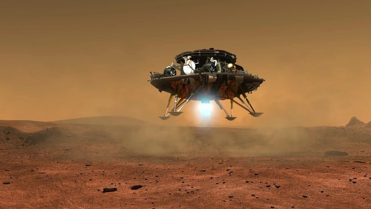 La Cina rilascia le prime immagini del suo rover Zhurong su Marte thumbnail