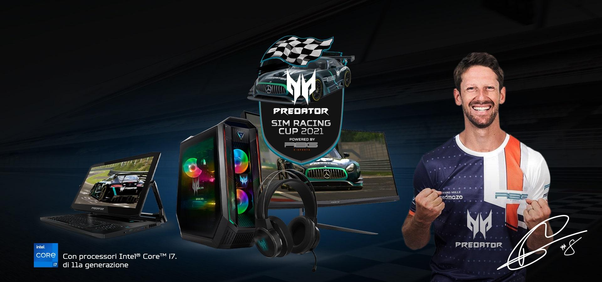 Acer Predator Cup: la competizione per gli appassionati motorsport thumbnail