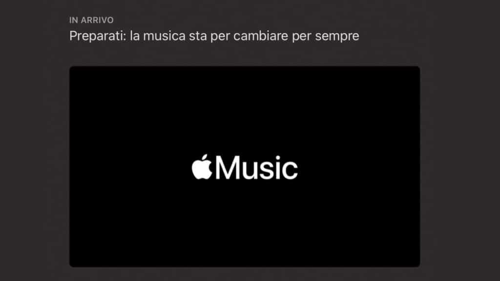 apple music nuova funzionalità