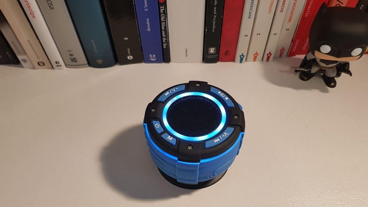 La recensione di BassPal F021: speaker Bluetooth leggero e impermeabile thumbnail