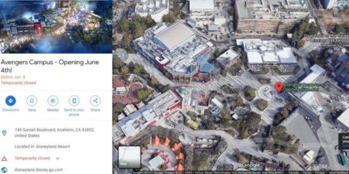 campus avengers google maps