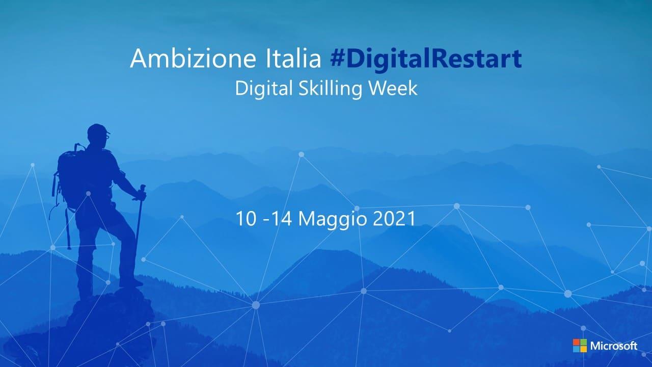 Skilling Week, la settimana di formazione digitale gratuita di Microsoft thumbnail