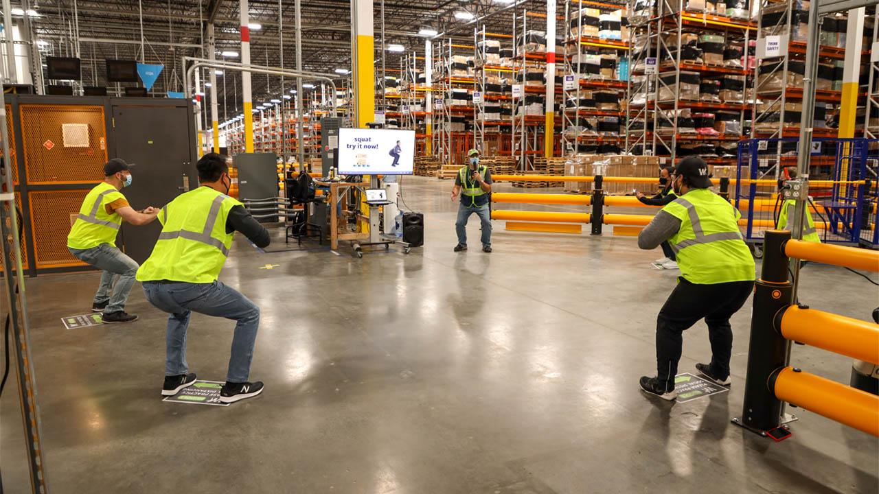 Amazon lancia un programma dedicato alla salute e al benessere dei suoi dipendenti thumbnail