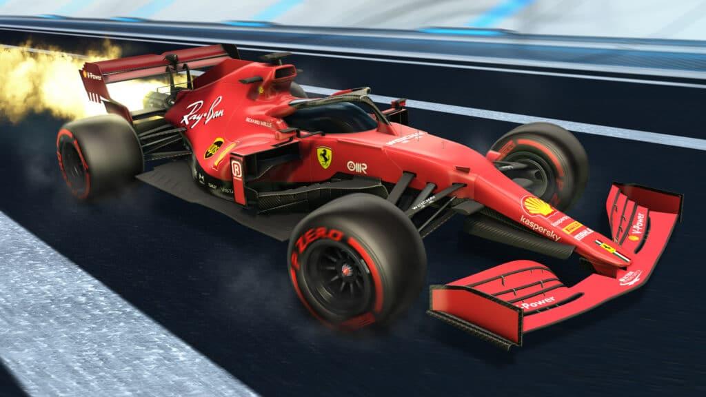 Rocket League Formula 1