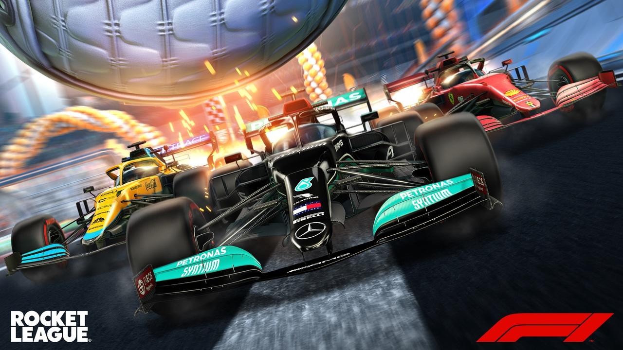 Rocket League: le auto della Formula 1 sgommano in gioco thumbnail