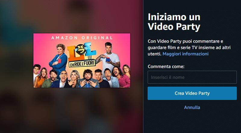 amazon party video