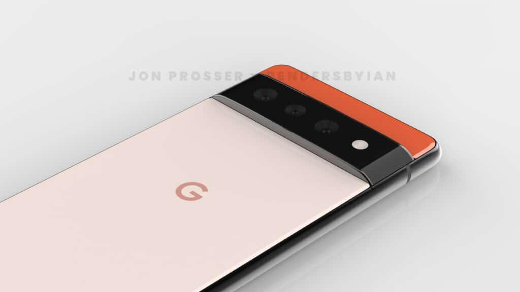 jon prosser - google pixel 6 pro