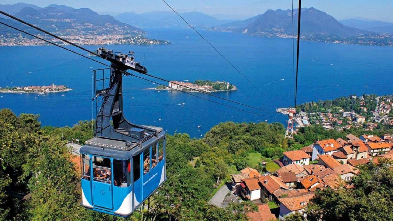 Incidente sul Lago Maggiore: si stacca una cabina funivia thumbnail