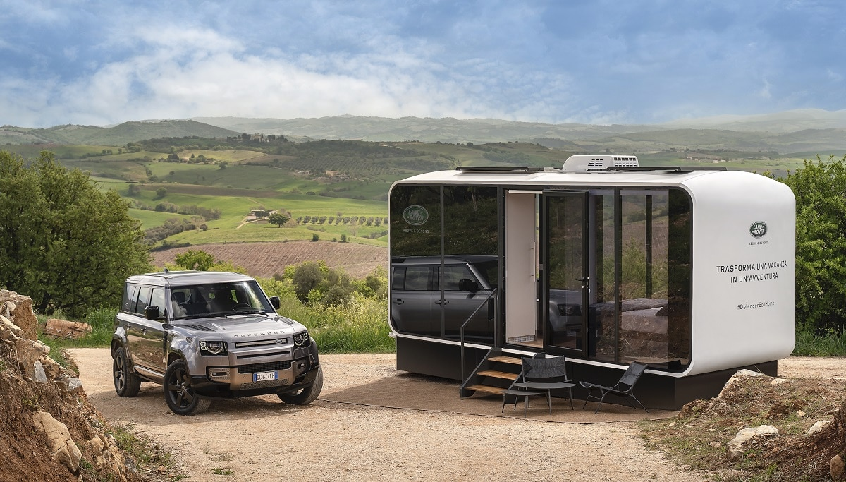 Land Rover presenta la Defender Eco Home thumbnail