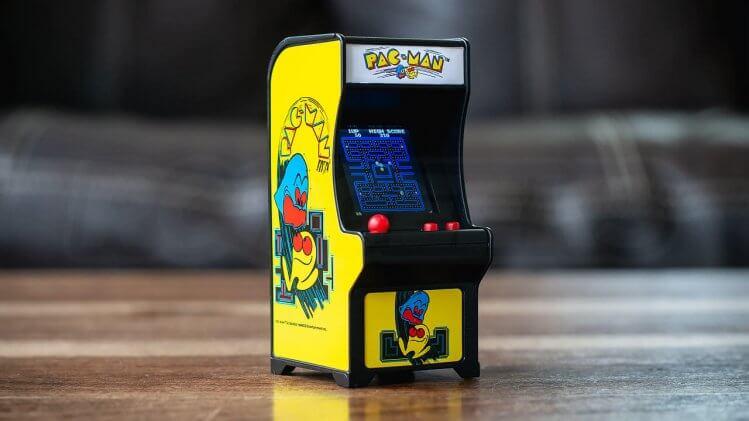 mini cabinato arcade Pac-Man